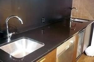 Kuchynská doska čierna žula