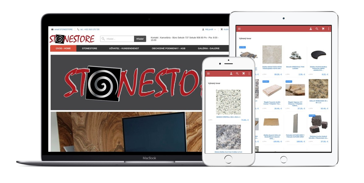 E-shop STONESTORE Čistiace prostriedky na kuchynské dosky