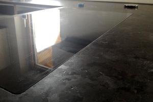 Zafrézovanie varného panela do žulovej pracovnej dosky